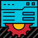 website, settings, configuration, setup, web