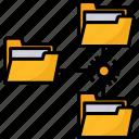 lan, network, data, folder, management, connection