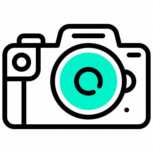 Camera, digital, dslr, photography, technology icon - Download on Iconfinder