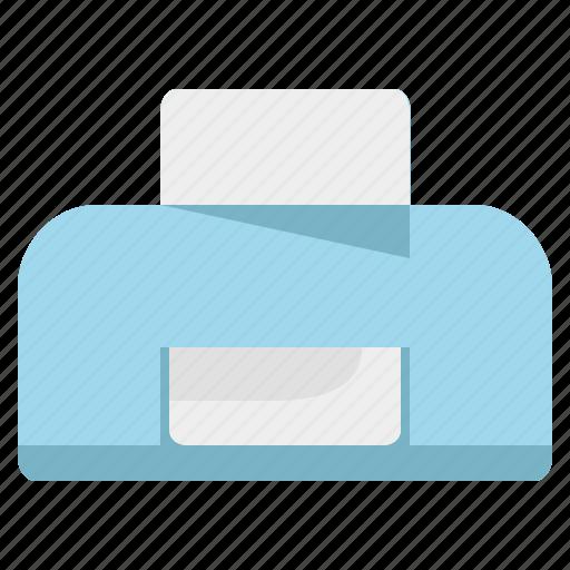 doc, document, print, printer, technology icon