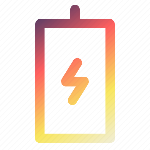 battery, carging, charge, technology icon