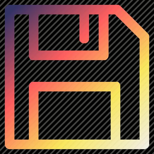 disk, save, saving, technology icon