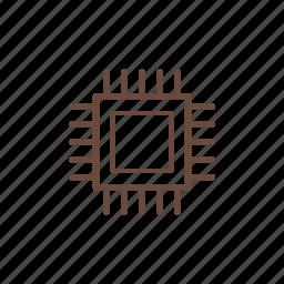 computer, cpu, hardware, pc, technology icon