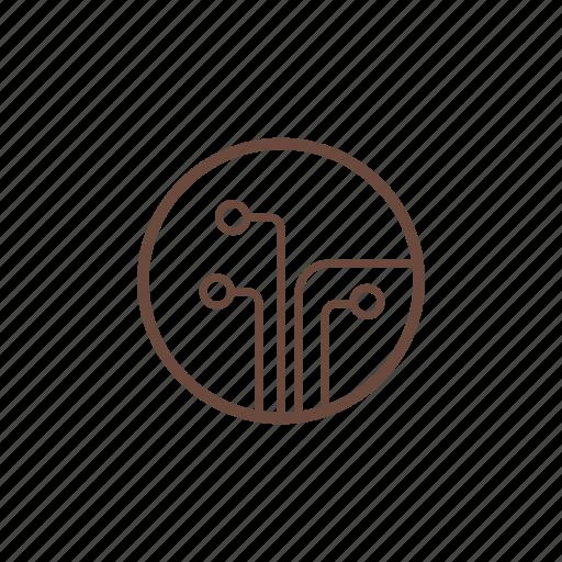 circuit, computer, hardware, pc, technology icon