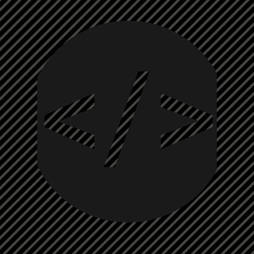 coding, html, program, web icon