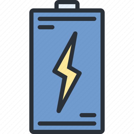 battery, charge, electric, energy, power, technology icon