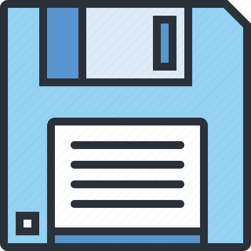 data, floppy, guardar, information, save, technology icon