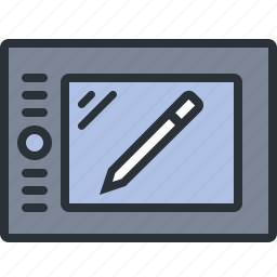 design, device, graphic, tablet, technology icon
