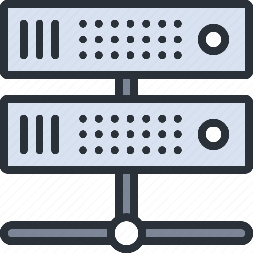 computer, data, information, server, technology icon
