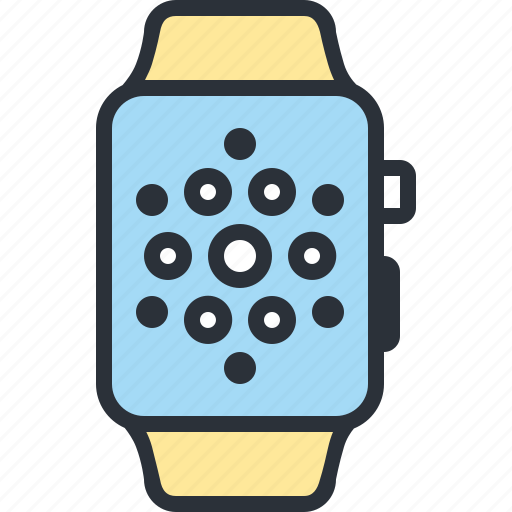 apple app, gadget, smart, technology, watch icon