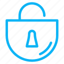 computer, electronic, internet, lock, technology icon