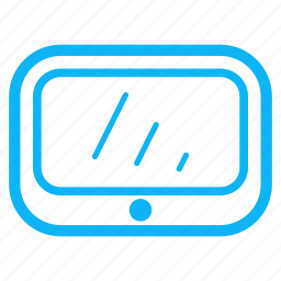 computer, electronic, internet, tablet, technology icon