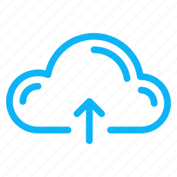 cloud, computer, internet, technology, upload icon