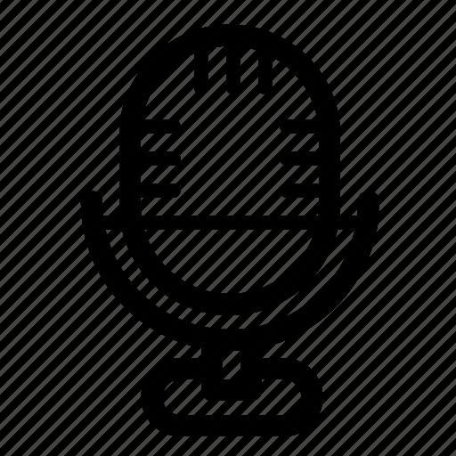 mic, microphone, voice, volume icon