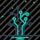 circuit, digital, electronic, hardware, network, semiconductor, tree