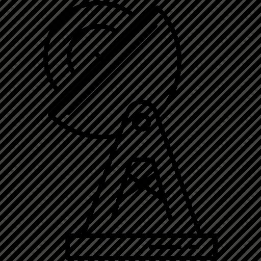 antenna, astronomy, satellite, science, space, technology, universe icon icon