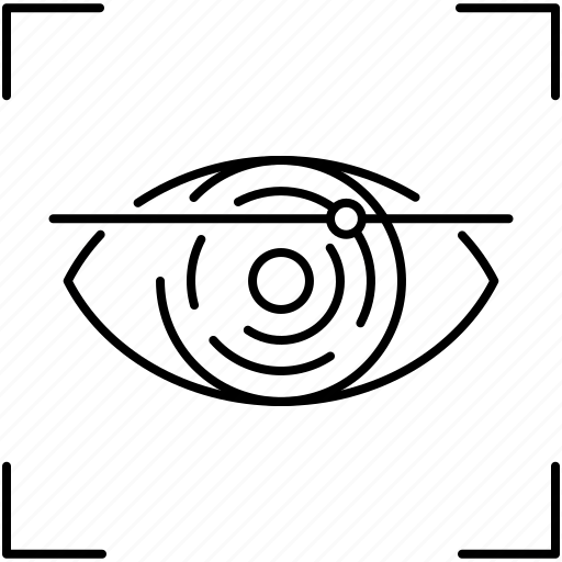 Eye, eye scanner, technology icon - Download on Iconfinder