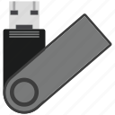 data, pendrive, storage, usb icon