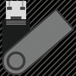 data, pendrive, storage, usb icon