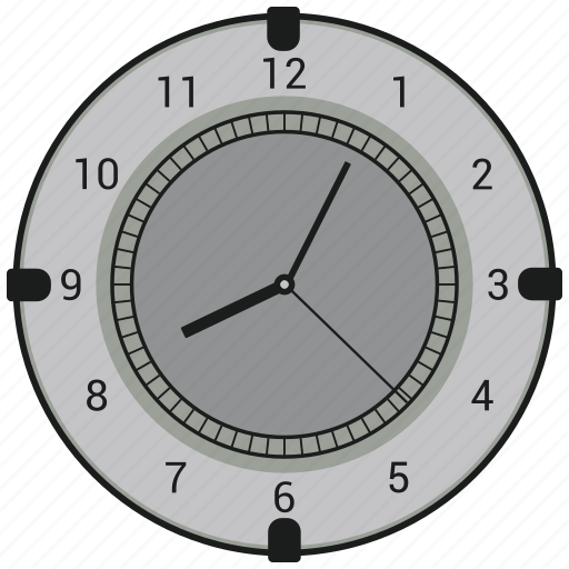 Wall clock, clock, watch, time icon