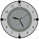 clock, time, wall clock, watch icon