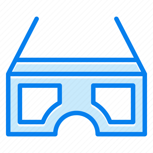 eyeglasses, glasses, technology, view icon