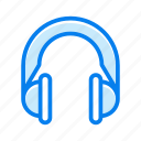 headphone, headphones, headset, listen, sound icon