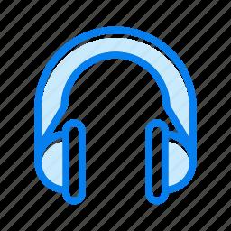 headphone, headphones, headset, listen, sound icon