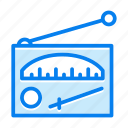 antenna, device, media, radio, signal icon