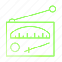 antenna, radio, signal, technology icon