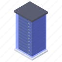 datacenter, data server, database, server, main server icon
