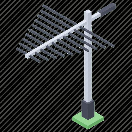 aerial, antenna, communication antenna, tower, tv antenna icon