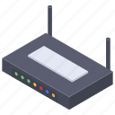 wifi router, internet device, network router, wireless router, broadband modem, modem icon
