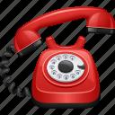 dial, landline, phone, phone call, rotary telephone, telephone