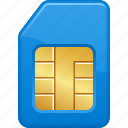 communication, phone, sim, sim card, telephone icon