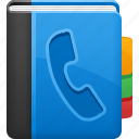 phone, phone book, telephone, telephone registry icon