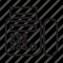telephone, phone, fax, machine, message