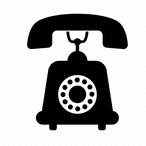 communication, old, phone, retro, technology, telephone, vintage icon