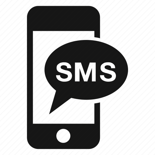 bubble, iphone, message, phone, smartphone, sms, speech icon