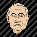 kremlin, moscow, president, putin, russia, vladimir, world leader icon
