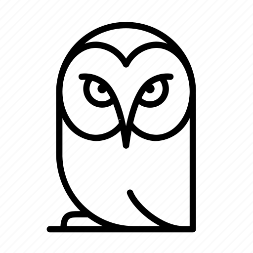 animal, bird, owl, pet icon