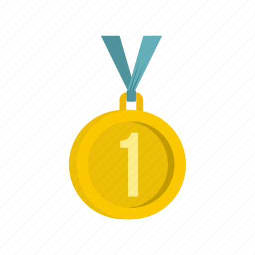 award, first, gold, label, medal, place, success icon