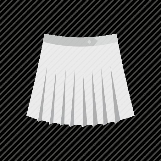 cloth, fashion, female, front, skirt, t-shirt, tennis icon
