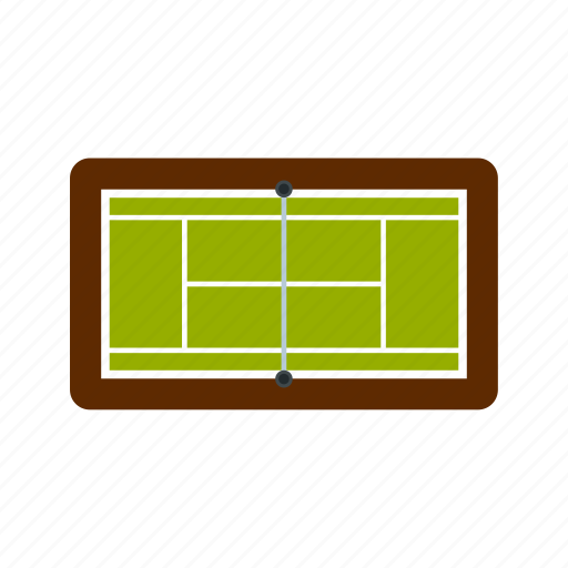 court, coverage, game, grass, line, mesh, tennis icon