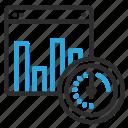 bar, chart, graph, optimization, page, speed, statistics icon