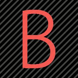 alphabet, alphabets, bold, font, fonts, type, typeface icon