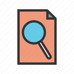 assignment, image, preview, printer, report, view icon