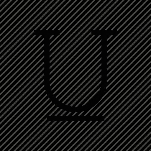 document, line, text, underline, words icon