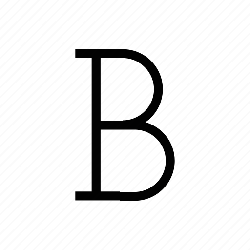 bold, document, edit, font, text icon