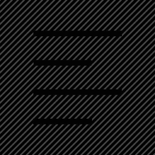 align, arrow, document, file, left, text icon